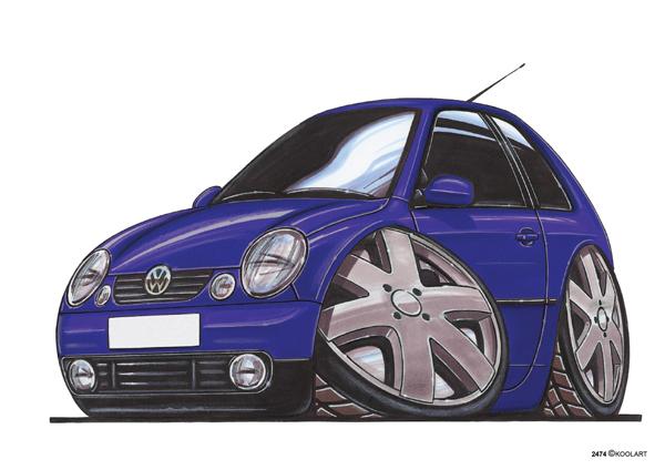 Volkswagen Polo Bleue