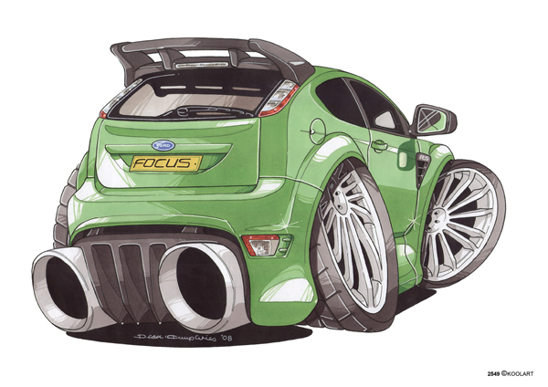 Ford Focus RS Ar Verte