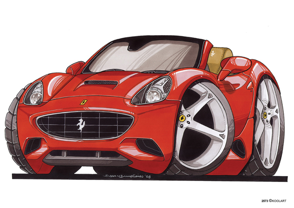 Ferrari California Av Rouge