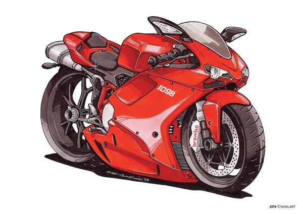 Ducati 1098 Rouge