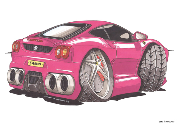 Ferrari F430 Rose