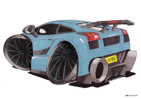 Lamborghini Gallardo Ar Bleue