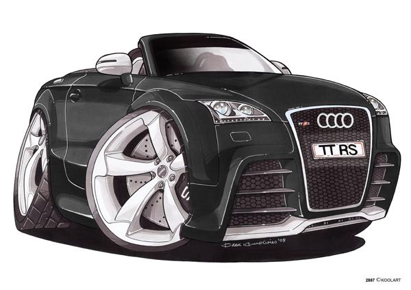 Audi TT Cabriolet Noire
