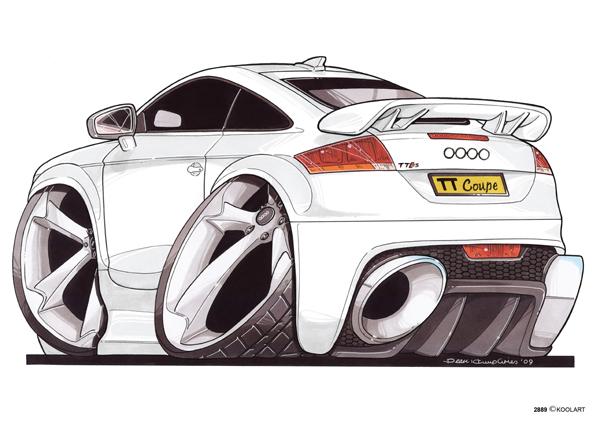 Audi TT Arriere Blanche