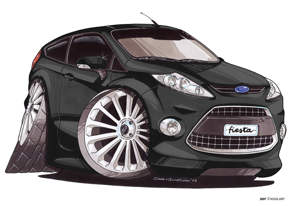 Ford Fiesta Noire