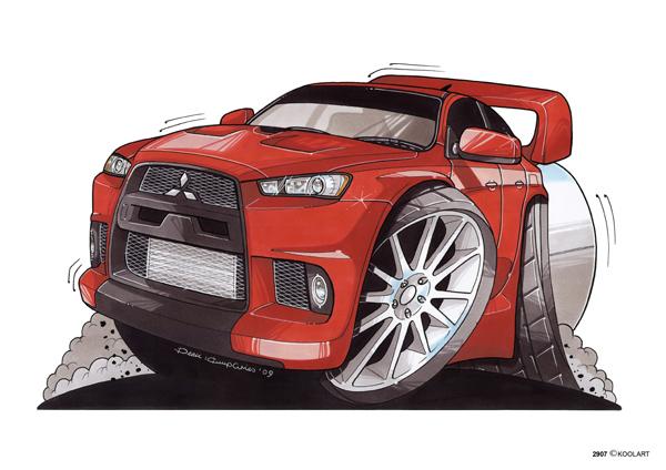 Mitsubishi Lancer Evo Rouge