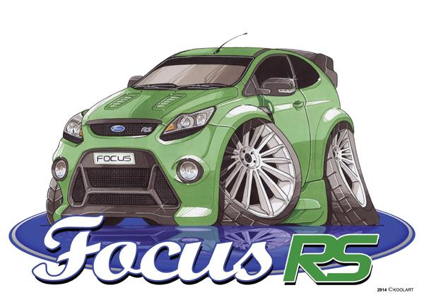 Ford Focus RS Verte