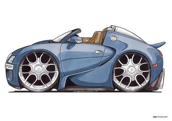 Bugatti Veyron Sport Bleue