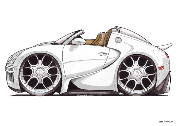 Bugatti Veyron Sport Blanche