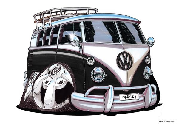 Volkswagen Combi Noir