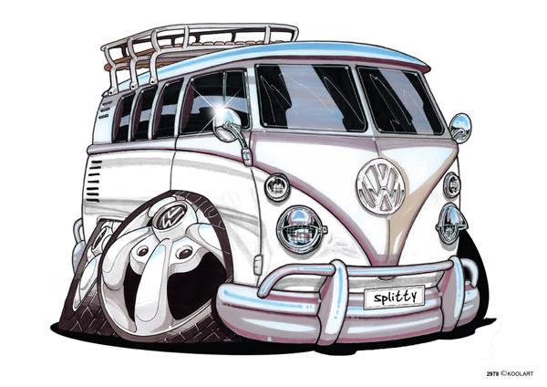 Volkswagen Combi Blanc