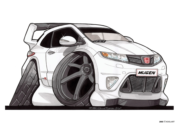 Honda Civic Type R Blanche