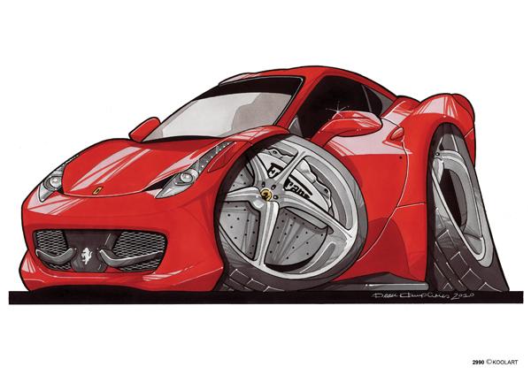 Ferrari F458 Rouge
