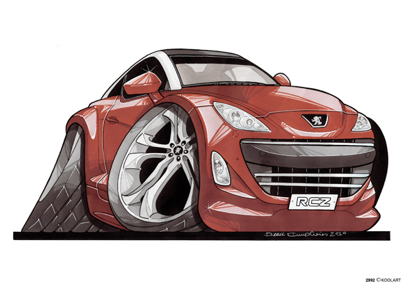 Peugeot RCZ Rouge