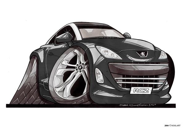 Peugeot RCZ Noire