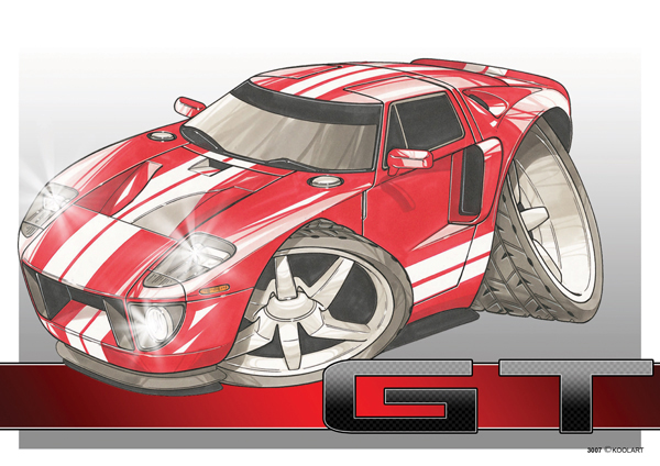 Ford GT Rouge Sport