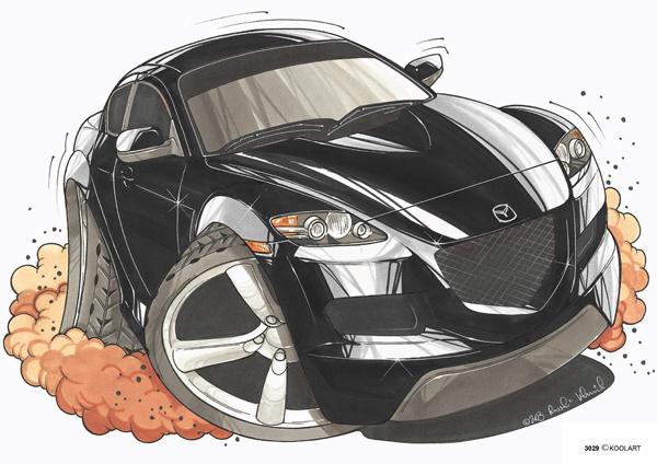 Mazda RX 8 Noire