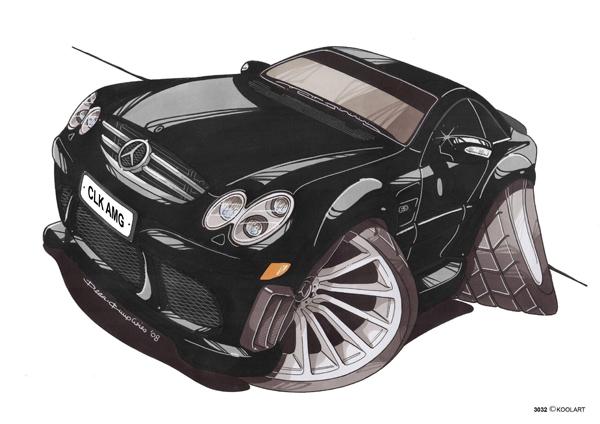Mercedes CLK AMG Noire