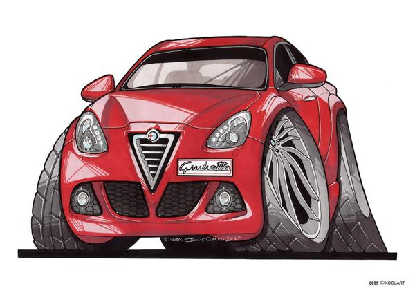 Alfa Roméo Guilietta Rouge
