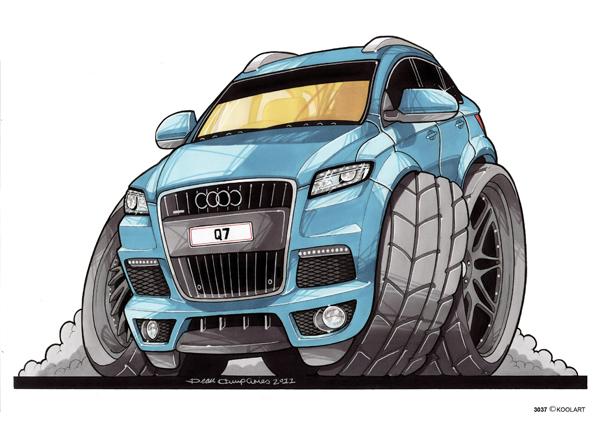 Audi Q7 4X4 Bleu