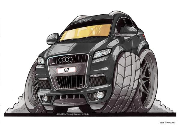 Audi Q7 4X4 Noir