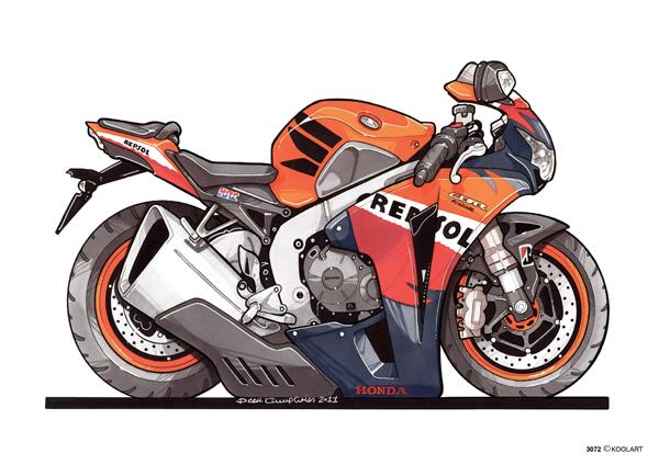 Honda CBR 1000 REPSOL