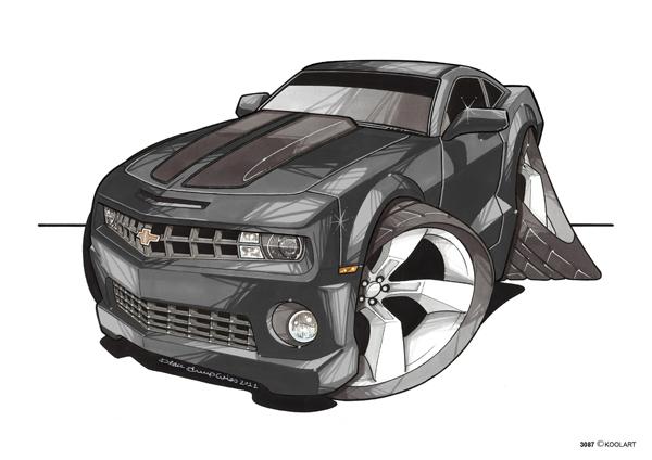 Chevrolet Camaro Noire