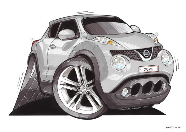 Nissan Juke SUV Gris