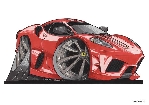 Ferrari F430 Rouge