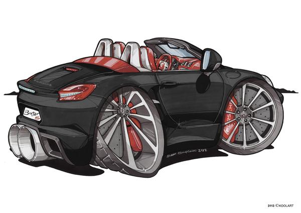 Porsche Boxster S Noire