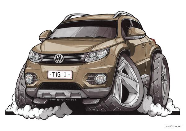 Volkswagen Tiguan Beige