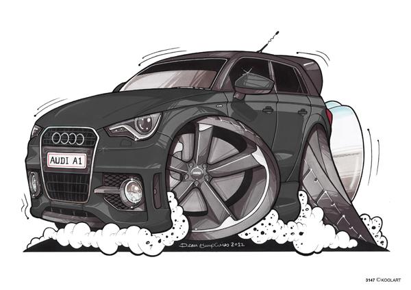 Audi A1 Noire