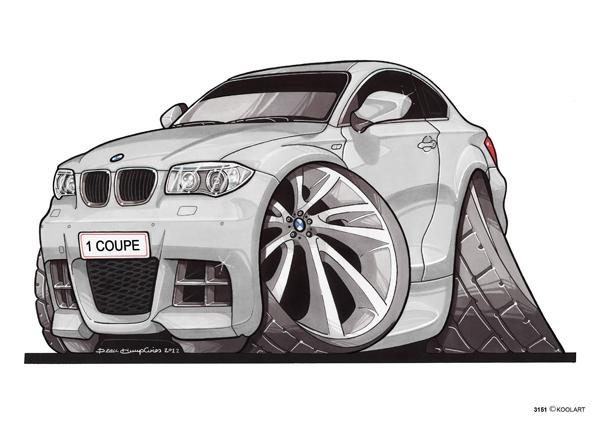 BMW Serie 1 Blanche