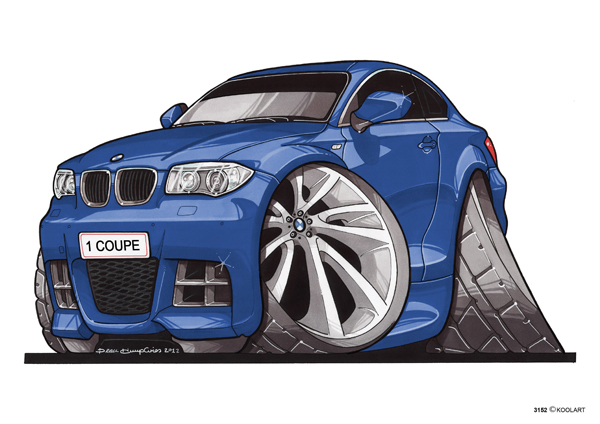 BMW Serie 1 Bleue