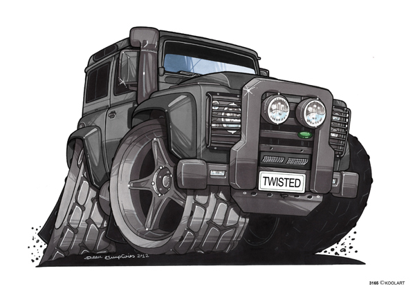 Land Rover Defender Noir