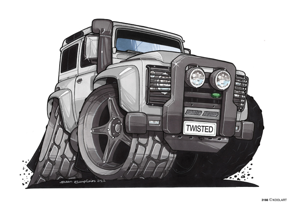 Land Rover Defender Gris
