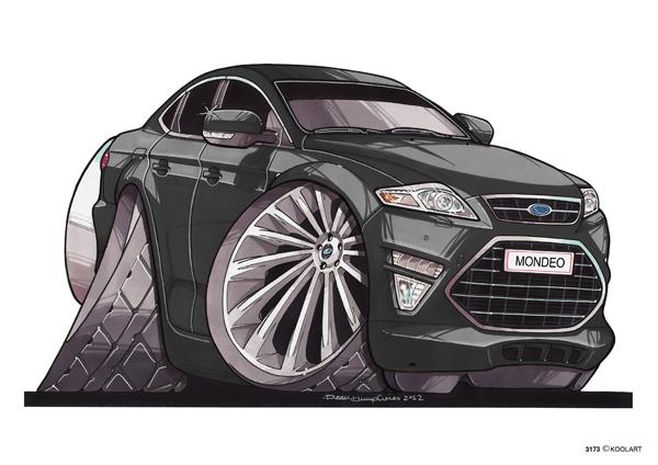 Ford Mondeo Noire