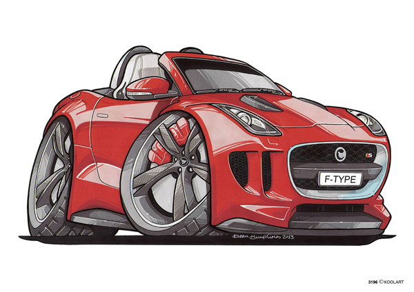 Jaguar F-Type Rouge