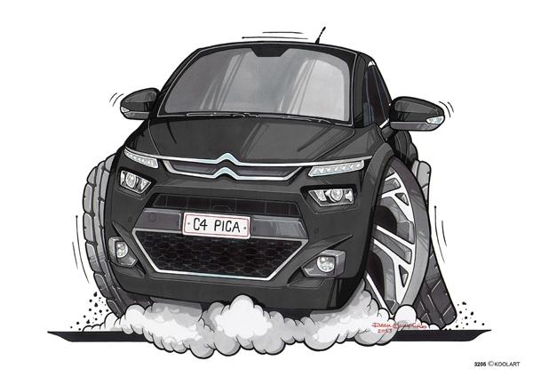 Citroen C4 Picasso Noire