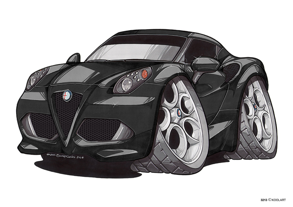 Alfa Roméo 4C Noire