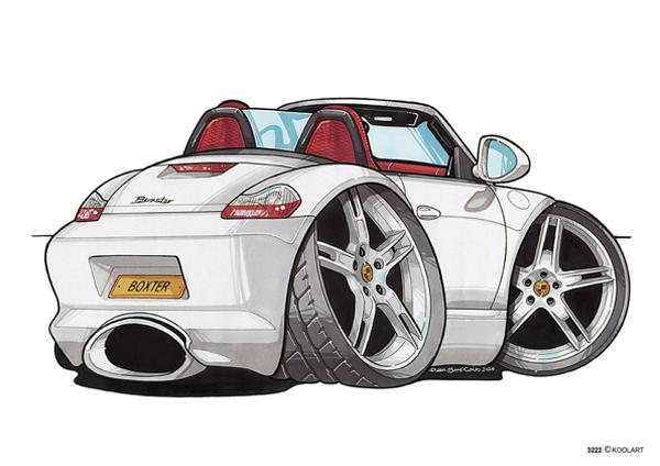 Porsche Boxster Blanche