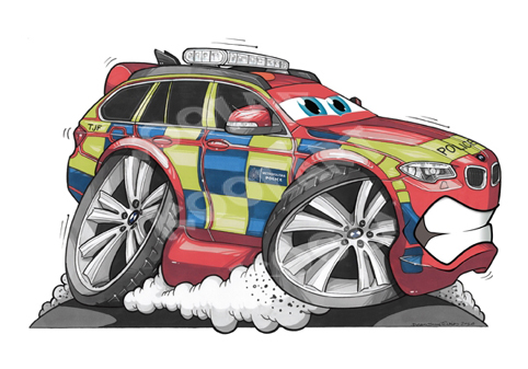 BMW X5 Cartoon Cars Rouge