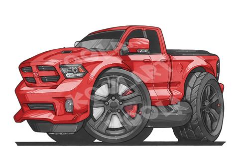 Dodge Ram Rouge