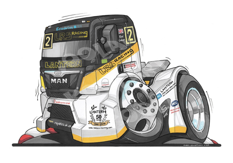 Camion Man LRS Racing