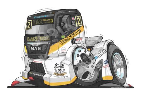 Camion Man LRS Racing