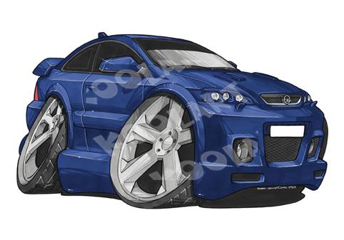 Opel Astra Bleue