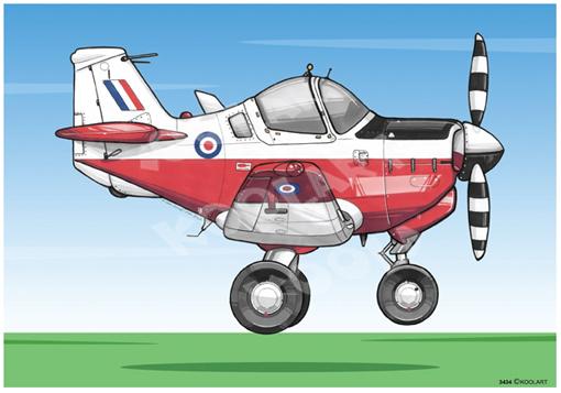 Avion Bulldog Blanc