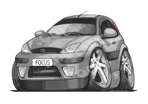 Ford Focus Grise