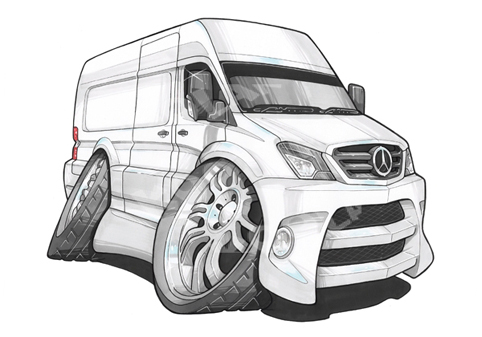 Fourgon Mercedes Sprinter