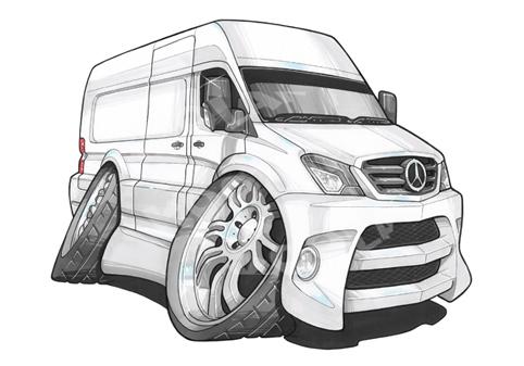 Fourgon Mercedes Sprinter